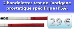 2 tests PSA à 29€ disponible à la boutique
